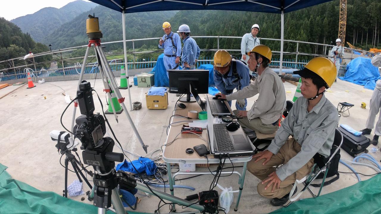 橋梁の建設現場におけるオープンイノベーション 新技術の導入
